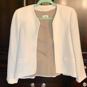 Wilfred crepe cream blazer